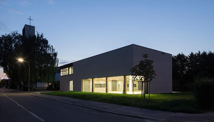 Architekten Ingolstadt neubau pfarrheim herz jesu ingolstadt bodensteiner