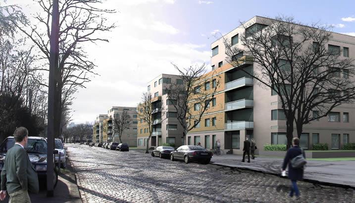ackermannbogen bodensteiner fest architekten stadtplaner m nchen. Black Bedroom Furniture Sets. Home Design Ideas